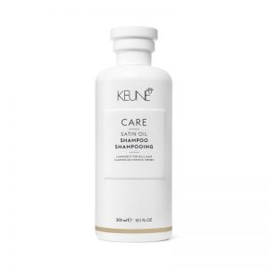 satin oil shampoo keune