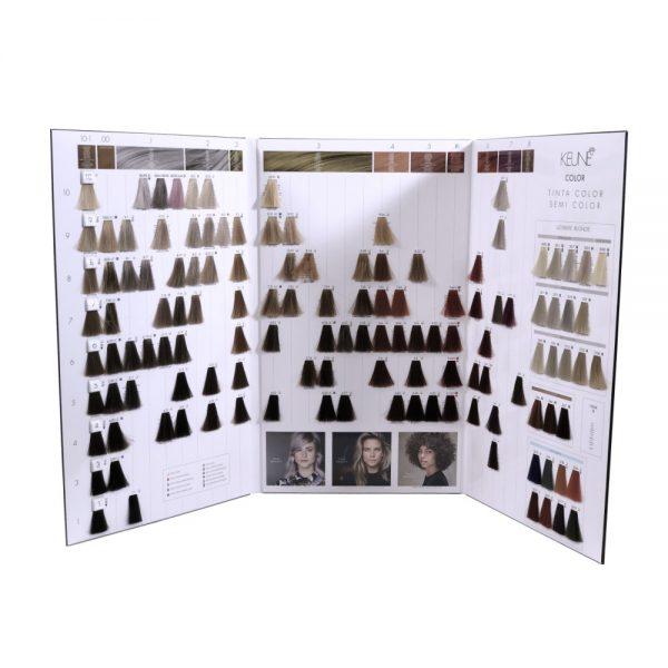 Kleurenkaart haarkleuren