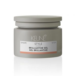 Brilliantine gel van Keune 75 ml